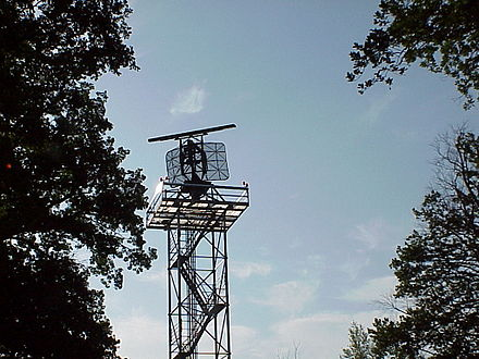ASR 910, a German derivate of AN/TPN-24, Radartower in Neubrandenburg (Western-Pomerania/ Germany) Asr910.jpg
