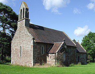 Aston Eyre - Image: Aston Eyre Church, Shropshire geograph.org.uk 489595