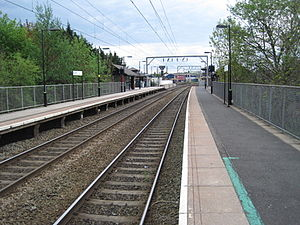Aston railway station - Aston station