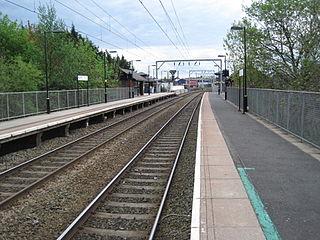 Aston railway station