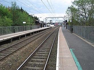 Aston railway station - Aston station