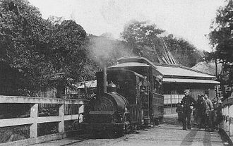Tōkaidō Main Line - The Yoshihama line after conversion to steam power, circa 1920