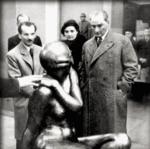 Ataturk opens Ankara Museum of Fine Arts and Sculpture