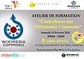 Atelier Wikimedia Commons 13 Fevrier 2021 à Douala.jpg