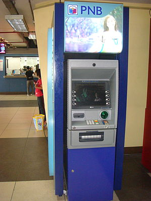 Philippine National Bank - PNB ATM at Balintawak LRT Station