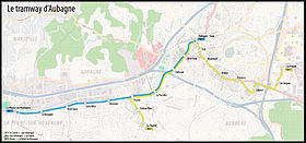 Image illustrative de l'article Tramway d'Aubagne