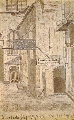Auerbachs Hof 1884