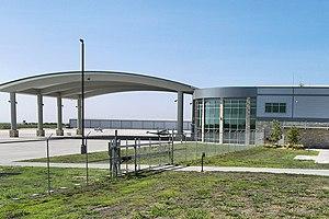 Austin Executive Airport - Image: Austin executive terminal 2012