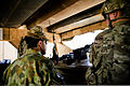 Australian Army Col. Simon Stuart, left, the commander of Combined Team Uruzgan, inspects the security at Forward Operating Base Hadrian, Uruzgan province, Afghanistan, May 30, 2013 130530-O-MD709-058.jpg