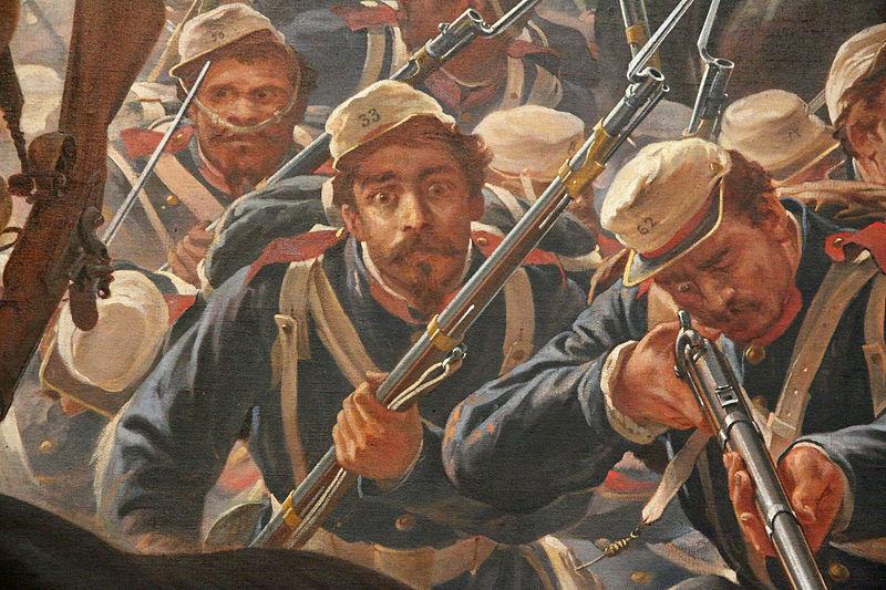 Ficheiro:Autorretrato de Pedro Américo na Batalha do Avaí.jpg