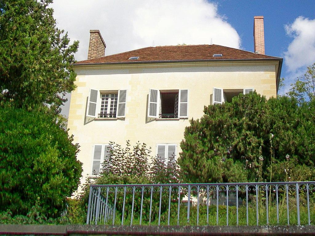 File auvers sur oise 95 maison du docteur gachet rue - Maison d artiste a visiter ...
