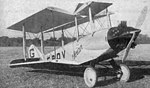 Avro 581 Avian G-EBOV prototype with Genet engine Les Ailes May 5,1927.jpg