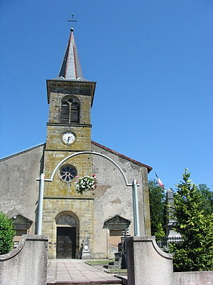 Aydoilles - Saint-Georges Church