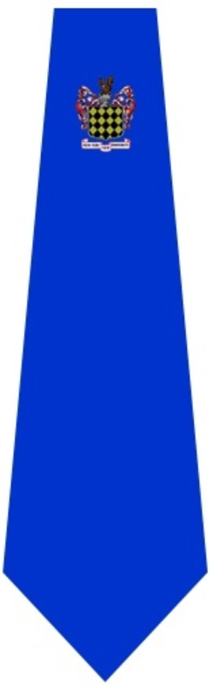 Liverpool Blue Coat School - Fig.1- Royal Blue Tie