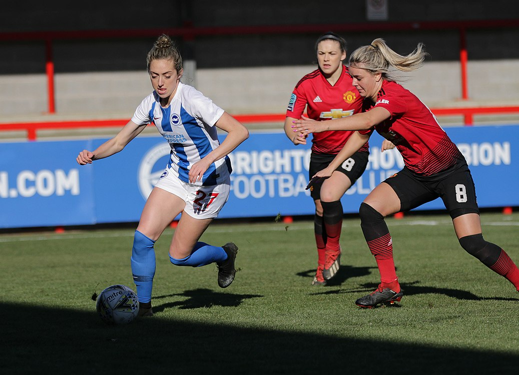 BHA Women 0 Man Utd Women 2 WFAC 4th rd 03 02 2019-375 (46072257645).jpg