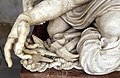 Baccio bandinelli, cristo morto sorretto da un angelo, 1550 ca., 07.jpg