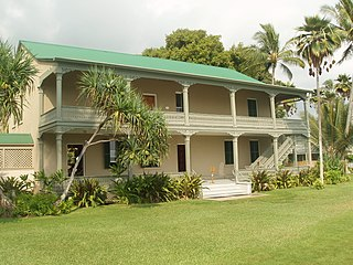 Historic building in Kailua, Hawaii, United States