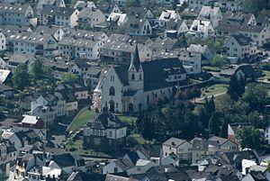 Bad Salzig - Image: Bad Salzig St Aegidius 01sc