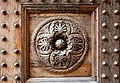 Badia di passignano, porta quattrocentesca, 06.jpg