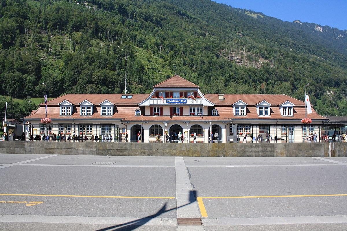 Bahnhof Interlaken Ost – Wikipedia