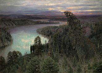 Bjarmaland - The Northern Land (Apollinary Vasnetsov, 1899).