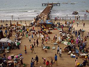 Бакау: Bakau fishmarket