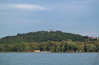 Balatonboglár Town in Southern Transdanubia, Hungary