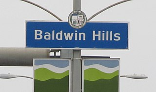 Baldwin Hills, Los Angeles Neighborhood of Los Angeles in California, United States