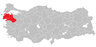 Balıkesir Subregion Subregion in West Marmara, Turkey