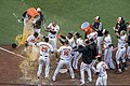 Baltimore Orioles Opening Day Walk-Off Win (40208948445).jpg