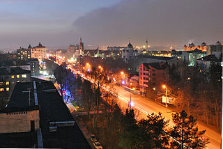 City of regional significance in Ternopil Oblast, Ukraine