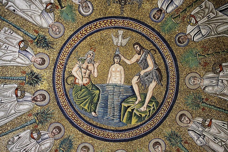 Baptism of Christ - Arian Baptistry - Ravenna 2016