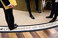 Barack Obama's shoes, Feb. 5, 2015.jpg