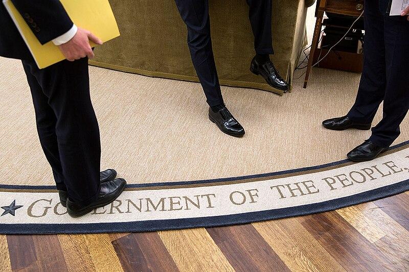 File:Barack Obama's shoes, Feb. 5, 2015.jpg