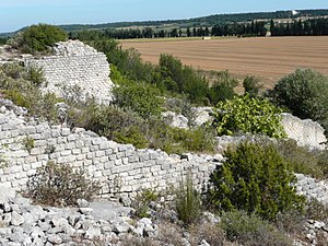 Roman agriculture - Mills below rock-cut channel