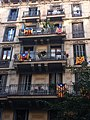 Barcelona. Catalonian Flags. - panoramio.jpg