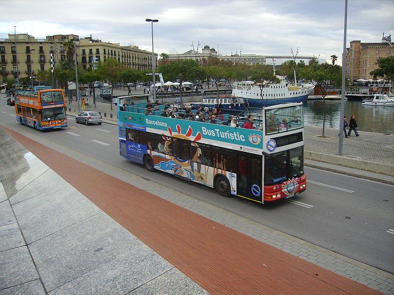Ônibus turístico de Barcelona