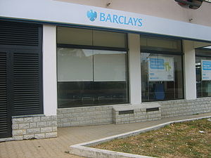 English: Bank Barclays in Lourinhã Português: ...