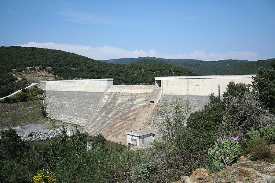 Barrage des Olivettes (Vailhan - Hérault)