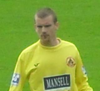 Barry Cogan (footballer) Irish semi-professional footballer