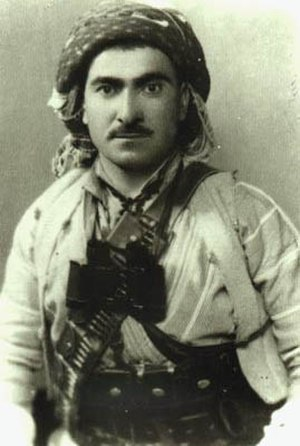 Ahmed Barzani revolt - Young Mustafa Barzani during the 1931-32 revolt