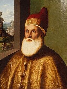 Basaiti Portrait of Doge Agostino Barbarigo