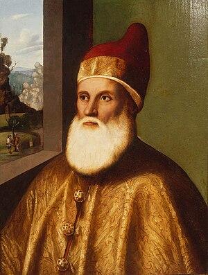 Agostino Barbarigo - Image: Basaiti Portrait of Doge Agostino Barbarigo