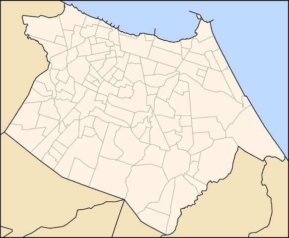 Map of neighbourhoods of Fortaleza By David Moraes de Andrade (Trabálho próprio My own work) [GFDL (http://www.gnu.org/copyleft/fdl.html) or CC-BY-3.0 (http://creativecommons.org/licenses/by/3.0)], via Wikimedia Commons