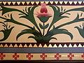 Basilica of Saint Francis Xavier (Dyersville, Iowa), interior, detail of flower pattern on walls.jpg