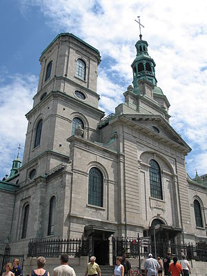 Minor basilica - Notre-Dame de Québec Cathedral, the first church in North America north of Mexico elevated to the rank of minor Basilica