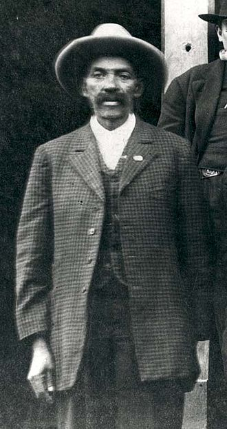 Bass Reeves - Reeves in 1907