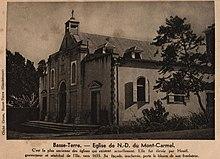 Basse-Terre. - Eglise de N.D. Du Mont-Carmel. C'est la plus ancienne des églises qui existent actuellement. Elle fut élevée par Houël, gouverneur et sénéchal de l'Ile, vers 1655