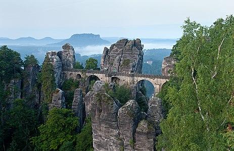 Basteibrücke in Germany