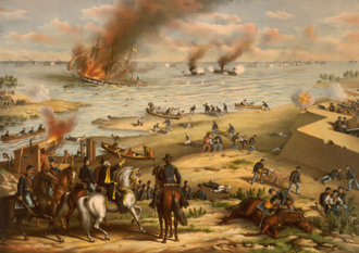 James River Squadron - Battle Between the Monitor and Merrimac